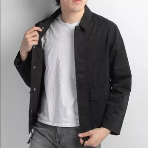 Men's Levi made and crafted canvas jacket Medium m